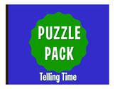 Spanish Telling Time Puzzle Pack