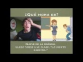 Spanish Telling Time Rap