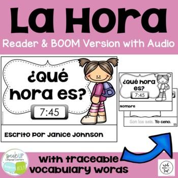 Spanish Telling Time Reader & Build-A-Book ~ ¿Qué hora es?