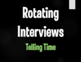 Spanish Telling Time Rotating Interviews
