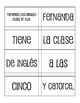 Spanish Telling Time Sentence Mixer