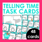 48 Telling Time in Spanish Task Cards