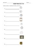 Spanish Telling Time Worksheet #5