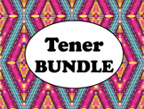 Spanish Tener BUNDLE- PowerPoint, Worksheets Pack, Keynote