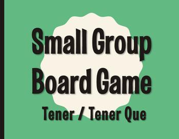 Spanish Tener Board Game