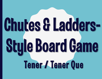 Spanish Tener Chutes and Ladders-Style Game