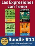 Spanish Tener Expressions Bundle. Expresiones con el Verbo Tener en Español