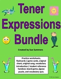 Spanish Tener Expressions Bundle - 6 Worksheets, Quiz, Cards and More!