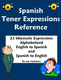 Spanish Tener Expressions Bilingual Reference - Tener Idioms