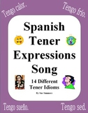 Spanish Tener Expressions Song With Actions - Tengo Suerte