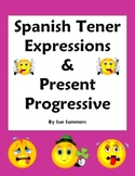 Spanish Tener Expressions and Present Progressive Worksheet