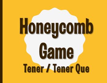 Spanish Tener Honeycomb Partner Game