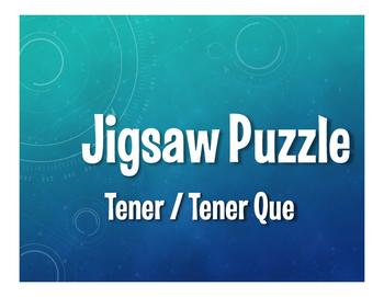 Spanish Tener Jigsaw Puzzle