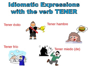 Spanish Tener Expressions AND Grammar VALUE PACK
