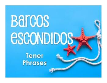 Spanish Tener Phrases Battleship-Style Game