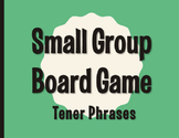 Spanish Tener Phrases Board Game