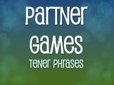 Spanish Tener Phrases Partner Games