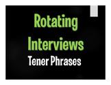 Spanish Tener Phrases Rotating Interviews