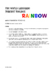 Spanish Tener Rainbow Reading