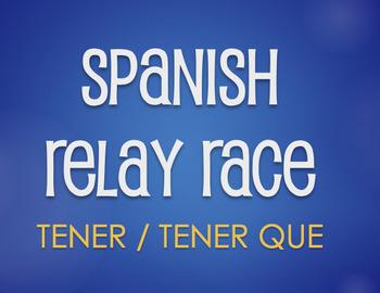 Spanish Tener Relay Race