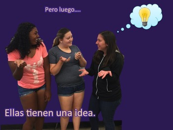 Spanish Tener, TPR Story PowerPoint and Activities