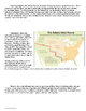 Spanish Texas from 1763-1819 Reading and Map Analysis