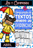 Spanish Text Based Evidence Reading Passages: APRIL. DISTA