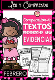 Spanish Text Based Evidence Reading Passages for February