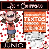 Spanish Text Based Evidence Reading Passages for JUNE