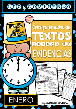 Spanish Text Based Evidence Reading Passages for January