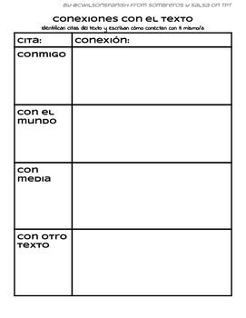 Spanish Text Connections