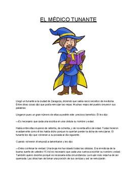 Spanish Text - El Medico Tunante