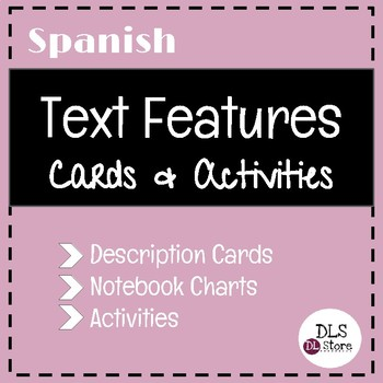 Spanish Text Features
