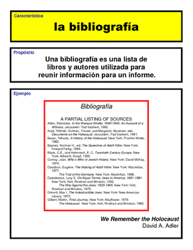 Spanish Text Features Posters
