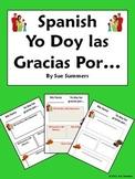 Spanish Thanksgiving / Accion de Gracias - Doy las Gracias Por...