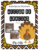 Spanish Thanksgiving Activities