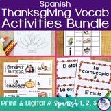 Spanish Thanksgiving Activities Bundle