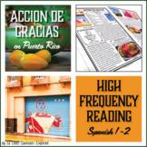 Spanish Thanksgiving Activities | Puerto Rico Reading Acci
