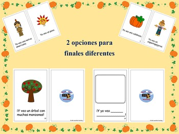 Spanish Thanksgiving Book and Activities