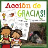 Spanish: Thanksgiving Activity Pack Bundle