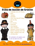 Spanish Thanksgiving Mini Bundle