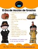 Spanish Thanksgiving Mini Bundle