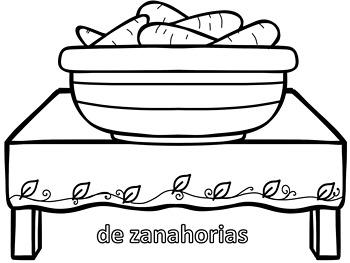Spanish Thanksgiving  Coloring