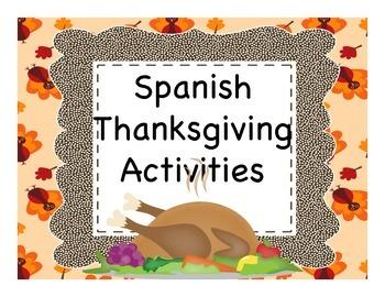 Spanish Thanksgiving (Día de Acción de Gracias) Video Activities