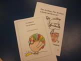 Spanish Thanksgiving Day story booklet