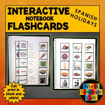 Spanish Thanksgiving, Christmas, New Year's, Valentine's Day Flashcards
