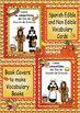 Spanish Thanksgiving Edible Non Edible Vocabulary Cards