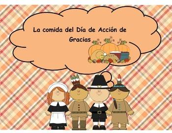 Spanish Thanksgiving Food -  La comida del Día de Acción de Gracias