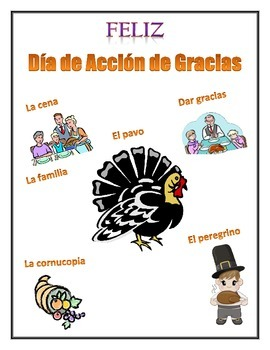 Spanish Thanksgiving Lesson