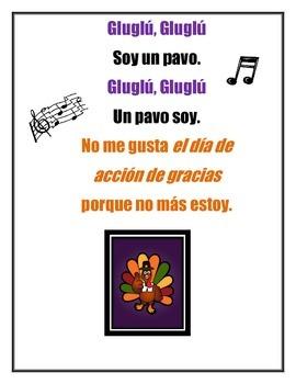 Spanish Thanksgiving Lesson